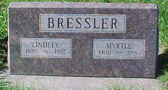 BRESSLER, LINDLEY - Dixon County, Nebraska   LINDLEY BRESSLER - Nebraska Gravestone Photos