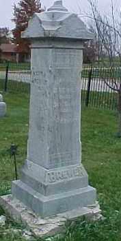 BREWER, HENRY - Dixon County, Nebraska | HENRY BREWER - Nebraska Gravestone Photos
