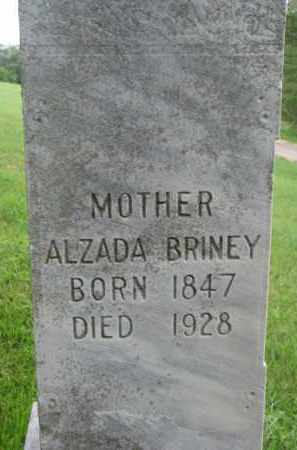 BRINEY, ALZADA - Dixon County, Nebraska | ALZADA BRINEY - Nebraska Gravestone Photos