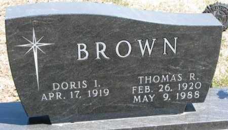 BROWN, THOMAS R. - Dixon County, Nebraska   THOMAS R. BROWN - Nebraska Gravestone Photos