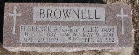 BROWNELL, CLEO (MAC) - Dixon County, Nebraska | CLEO (MAC) BROWNELL - Nebraska Gravestone Photos