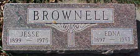 BROWNELL, EDNA - Dixon County, Nebraska | EDNA BROWNELL - Nebraska Gravestone Photos