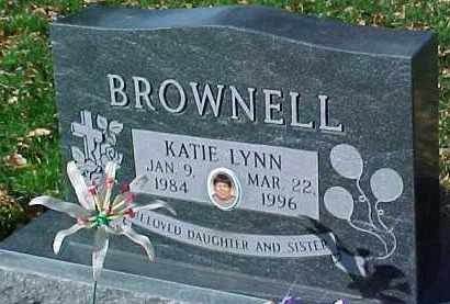 BROWNELL, KATIE LYNN - Dixon County, Nebraska | KATIE LYNN BROWNELL - Nebraska Gravestone Photos