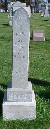 BRUDIGAM, ABEL M.D. - Dixon County, Nebraska | ABEL M.D. BRUDIGAM - Nebraska Gravestone Photos