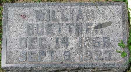 BUETTNER, WILLIAM - Dixon County, Nebraska | WILLIAM BUETTNER - Nebraska Gravestone Photos
