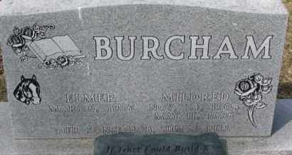 BURCHAM, MILDRED - Dixon County, Nebraska | MILDRED BURCHAM - Nebraska Gravestone Photos