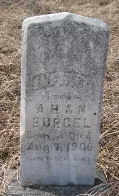BURGEL, INFANT A.H. & N. - Dixon County, Nebraska | INFANT A.H. & N. BURGEL - Nebraska Gravestone Photos