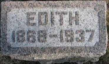 BURGESS, EDITH - Dixon County, Nebraska | EDITH BURGESS - Nebraska Gravestone Photos