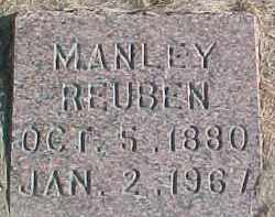 BURGESS, MANLEY REUBEN - Dixon County, Nebraska   MANLEY REUBEN BURGESS - Nebraska Gravestone Photos