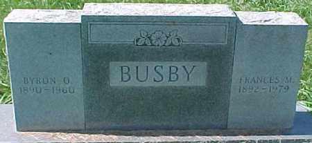 BUSBY, FRANCES M. - Dixon County, Nebraska | FRANCES M. BUSBY - Nebraska Gravestone Photos