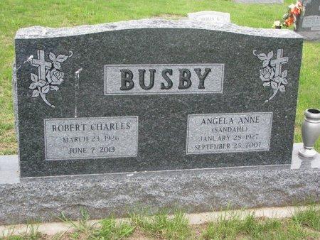 BUSBY, ANGELA ANNE - Dixon County, Nebraska   ANGELA ANNE BUSBY - Nebraska Gravestone Photos