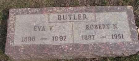 BUTLER, EVA V. - Dixon County, Nebraska | EVA V. BUTLER - Nebraska Gravestone Photos