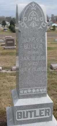 BUTLER, HENRY L. - Dixon County, Nebraska   HENRY L. BUTLER - Nebraska Gravestone Photos