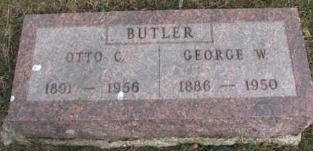 BUTLER, GEORGE W. - Dixon County, Nebraska | GEORGE W. BUTLER - Nebraska Gravestone Photos