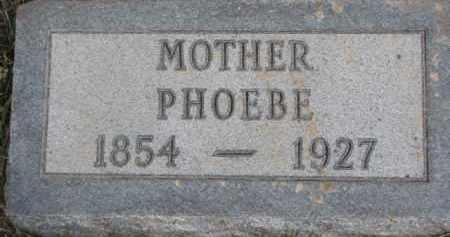 BUTLER, PHOEBE - Dixon County, Nebraska | PHOEBE BUTLER - Nebraska Gravestone Photos