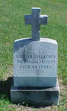 GALLAGHER, WILLIAM - Dixon County, Nebraska   WILLIAM GALLAGHER - Nebraska Gravestone Photos