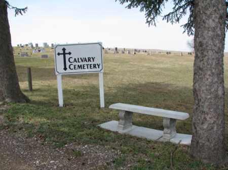 *CALVARY, EMERSON - Dixon County, Nebraska | EMERSON *CALVARY - Nebraska Gravestone Photos