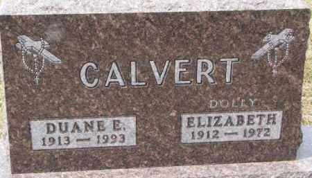 "CALVERT, ELIZABETH  ""DOLLY"" - Dixon County, Nebraska 