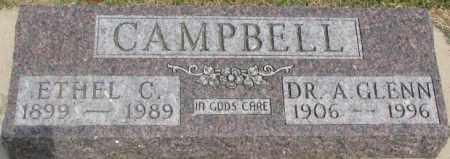 CAMPBELL, ETHEL C. - Dixon County, Nebraska | ETHEL C. CAMPBELL - Nebraska Gravestone Photos