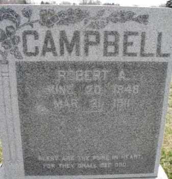 CAMPBELL, ROBERT A. - Dixon County, Nebraska | ROBERT A. CAMPBELL - Nebraska Gravestone Photos