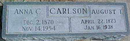 CARLSON, AUGUST T. - Dixon County, Nebraska | AUGUST T. CARLSON - Nebraska Gravestone Photos