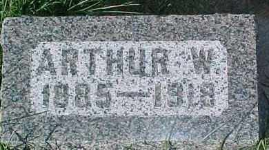CARLSON, ARTHUR W. - Dixon County, Nebraska   ARTHUR W. CARLSON - Nebraska Gravestone Photos