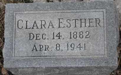 CARLSON, CLARA ESTHER - Dixon County, Nebraska | CLARA ESTHER CARLSON - Nebraska Gravestone Photos