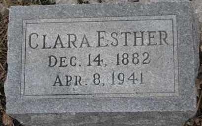 CARLSON, CLARA ESTHER - Dixon County, Nebraska | CLARA ESTHER CARLSON - Nebraska Gravestone Photos