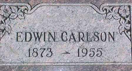 CARLSON, EDWIN - Dixon County, Nebraska | EDWIN CARLSON - Nebraska Gravestone Photos