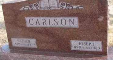 CARLSON, ESTHER - Dixon County, Nebraska | ESTHER CARLSON - Nebraska Gravestone Photos