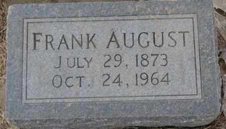 CARLSON, FRANK AUGUST - Dixon County, Nebraska | FRANK AUGUST CARLSON - Nebraska Gravestone Photos