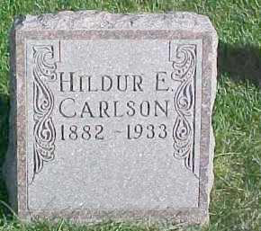 CARLSON, HILDUR E. - Dixon County, Nebraska | HILDUR E. CARLSON - Nebraska Gravestone Photos