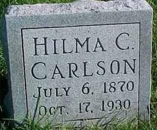 CARLSON, HILMA C. - Dixon County, Nebraska | HILMA C. CARLSON - Nebraska Gravestone Photos