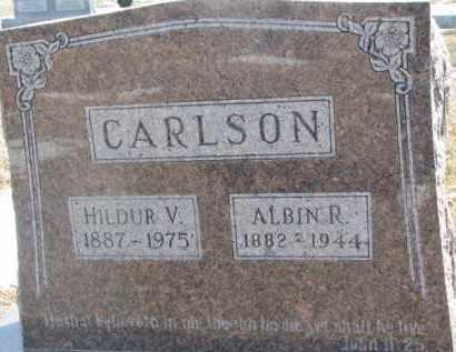 CARLSON, ALBIN R. - Dixon County, Nebraska   ALBIN R. CARLSON - Nebraska Gravestone Photos