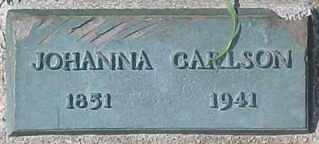 CARLSON, JOHANNA - Dixon County, Nebraska   JOHANNA CARLSON - Nebraska Gravestone Photos