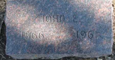 CARLSON, JOHN E. - Dixon County, Nebraska   JOHN E. CARLSON - Nebraska Gravestone Photos