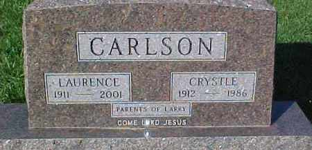 CARLSON, LAURENCE - Dixon County, Nebraska | LAURENCE CARLSON - Nebraska Gravestone Photos
