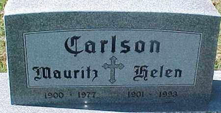 CARLSON, MAURITZ - Dixon County, Nebraska | MAURITZ CARLSON - Nebraska Gravestone Photos