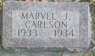 CARLSON, MARVEL J. - Dixon County, Nebraska | MARVEL J. CARLSON - Nebraska Gravestone Photos