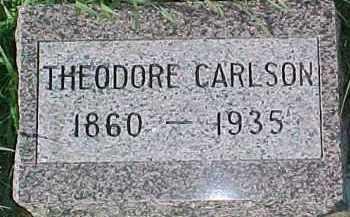 CARLSON, THEODORE - Dixon County, Nebraska | THEODORE CARLSON - Nebraska Gravestone Photos
