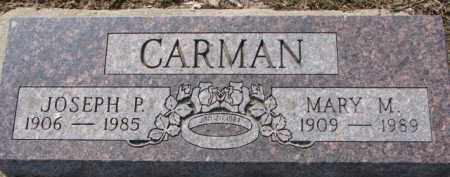 CARMAN, MARY M. - Dixon County, Nebraska | MARY M. CARMAN - Nebraska Gravestone Photos