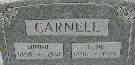 CARNELL, MINNIE - Dixon County, Nebraska | MINNIE CARNELL - Nebraska Gravestone Photos