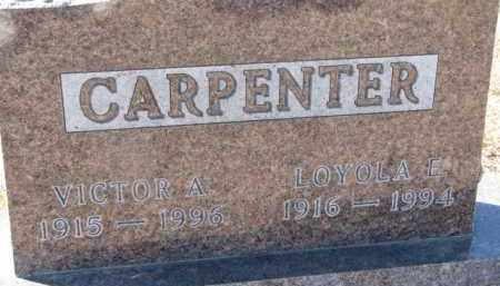CARPENTER, LOYOLA E. - Dixon County, Nebraska | LOYOLA E. CARPENTER - Nebraska Gravestone Photos