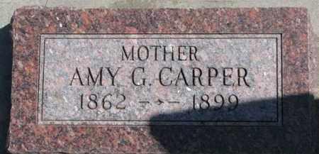CARPER, AMY G. - Dixon County, Nebraska | AMY G. CARPER - Nebraska Gravestone Photos
