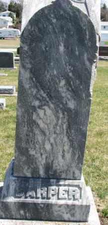CARPER, AMY G. (ORIGINAL STONE) - Dixon County, Nebraska | AMY G. (ORIGINAL STONE) CARPER - Nebraska Gravestone Photos