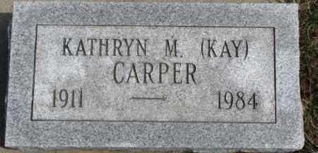 "CARPER, KATHRYN M. ""KAY"" - Dixon County, Nebraska | KATHRYN M. ""KAY"" CARPER - Nebraska Gravestone Photos"