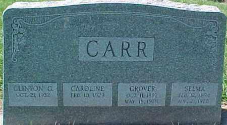 CARR, GROVER - Dixon County, Nebraska | GROVER CARR - Nebraska Gravestone Photos