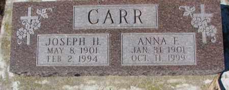 CARR, ANNA F. - Dixon County, Nebraska | ANNA F. CARR - Nebraska Gravestone Photos