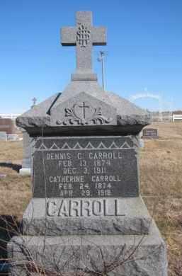 CARROLL, CATHERINE - Dixon County, Nebraska   CATHERINE CARROLL - Nebraska Gravestone Photos