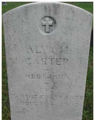 CARTER, ALVA M. - Dixon County, Nebraska | ALVA M. CARTER - Nebraska Gravestone Photos